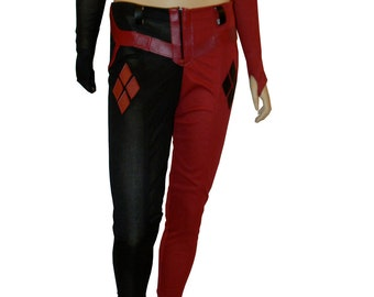 items similar to harley quinn boots boot covers on etsy. Black Bedroom Furniture Sets. Home Design Ideas
