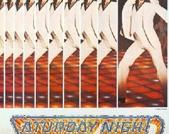 Magnet- Saturday Night Fever movie poster John Travolta dance
