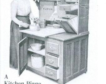 Magnet- Hoosier Cabinet vintage ad magnet