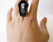 SALE - Barnabas - Miniature Sculpture - Charm Ring