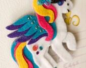 Pegasus My Little Pony Felt Magnet - Custom Made For You