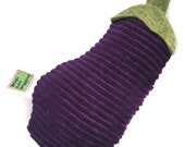 Catnip Cat Toy Eggplant