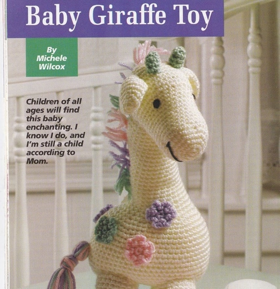 Baby Giraffe Crochet Pattern - Hooked on Crochet Magazine