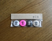 Pirates of Brooklyn - Pin Back Buttons