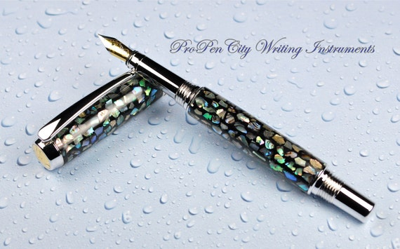 Mother-of-Pearl Fountain Pen