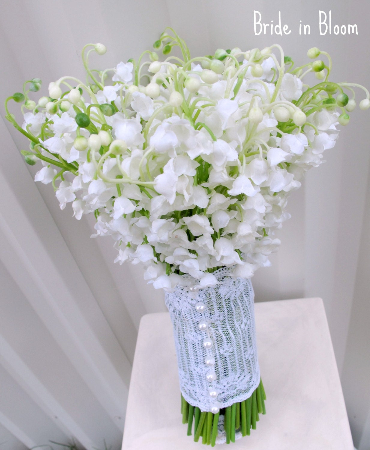 Lily Of The Valley Bouquet: Brides Wedding Bouquet Lily Of The Valley Bridal Bouquet