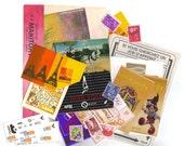 10 PARIS City scrap paper pack