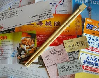 JAPAN COLLAGE SET (12units) - Japanese miscellaneous paper pieces