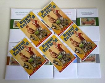 Royal Enfield Postcards - Set of 5