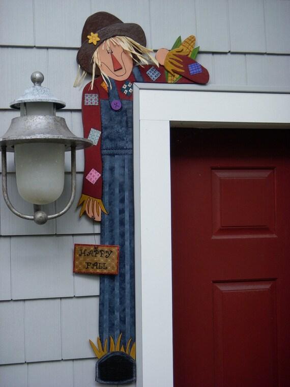 DEBI'S DOINGS -PATTERN- Wood Pattern For Scarecrow Door Hugger