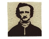 Edgar Allan Poe Literary Art Screen Print Patch