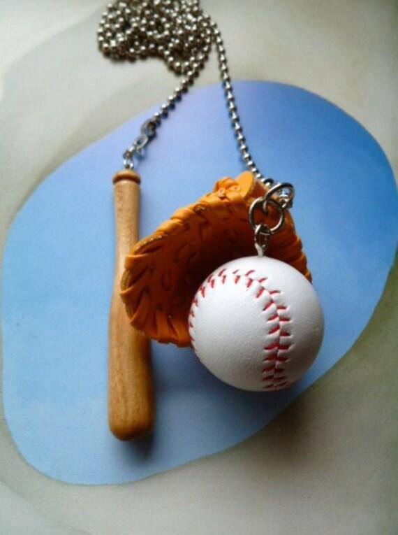 Baseball Ceiling Fan Pulls Or Lighting Pulls Soft Baseball