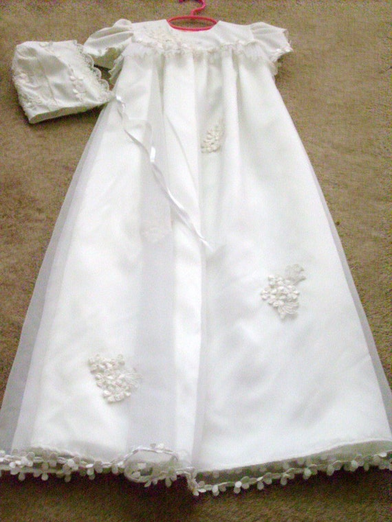 Custom designed Baptism Gown made from your Wedding Gown