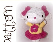 Crochet PDF Pattern - Lily Lamb