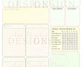 My Business Week Printable Weekly Planner Form - Appointments, Categorized To Do Lists, Goals, Daily Reminders Checklist for Etsy Sellers