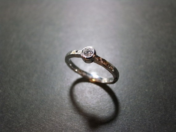 Solitaire Diamond Engagement Wedding Ring