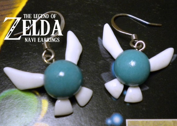 Navi Earrings - Glow in the Dark - Legend of Zelda - Nintendo