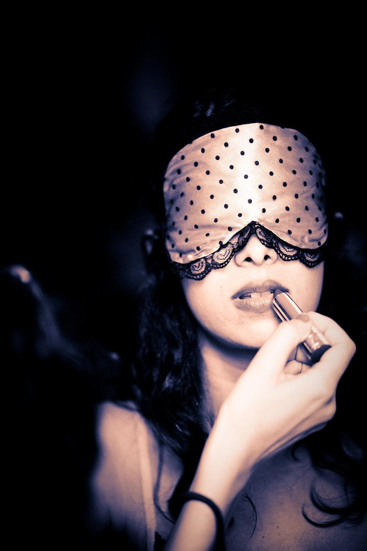Pink Boudoir Sleep mask Bernadette as featured on by ...