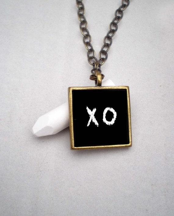 YOU DRAW Chalkboard Blackboard Eco Chic Necklace Jewelry