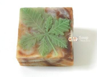 Leaf Blade 2 Silicone Soap Mold ( Soap Republic )