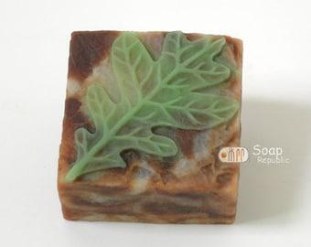 Leaf Blade 3 Silicone Soap Mold ( Soap Republic )