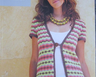 Ella Rae Design Knitting Book 7, Spring and Summer Sweaters and Tanks from 2007