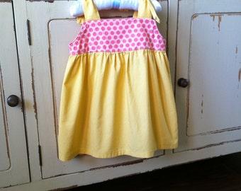 Shoulder Tie Top Pattern - Baby Toddler Children Sizes 1 to 6