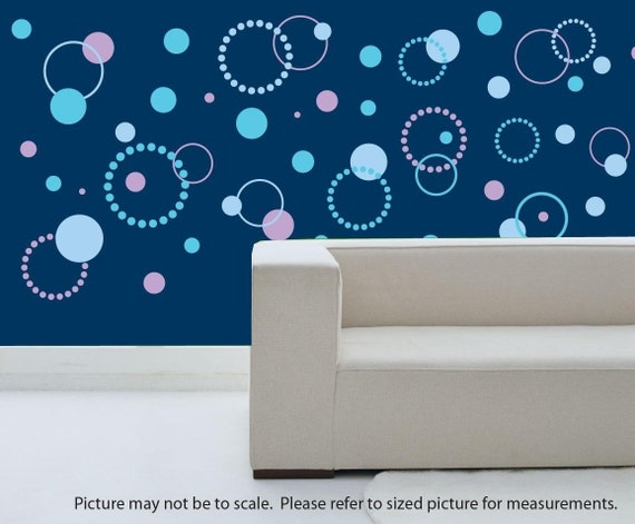 Dotty Dot Wall Decals 3 color - Small pkg.