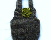 Felted Wool Bag Small Cute and Amazing