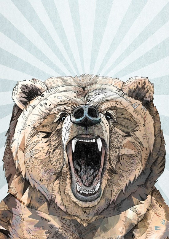 Grizzly // A4 print