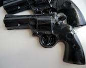 15 Police Gun Soap - detective birthday favor, police wedding favor