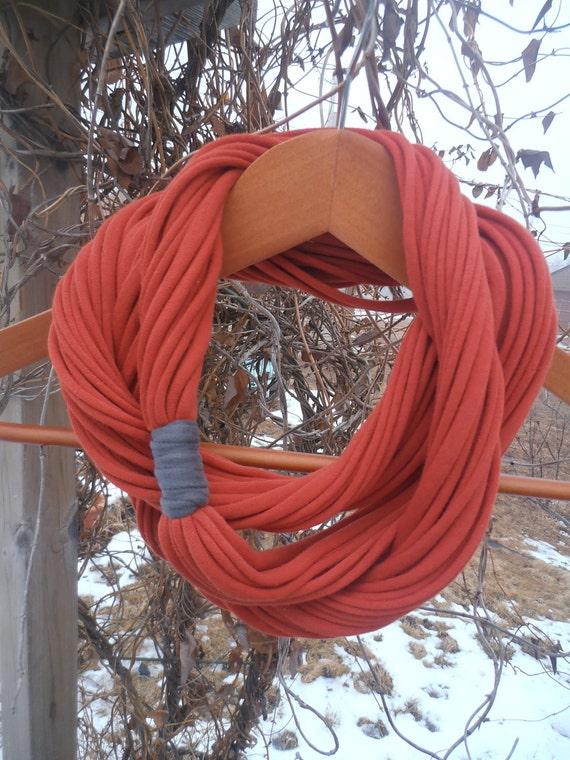 Infinity Scarf - Burnt Orange Color