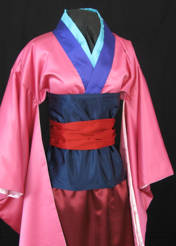 mulan pink robe - HD1072×1500