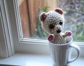50% off // SALE // Kernel the Amigurumi Baby Bear