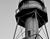 "5""x7"" Sanibel Lighthouse - Great Gift Idea - Black and White Photography Print - Holiday Sale - Southwest Florida island landmark"