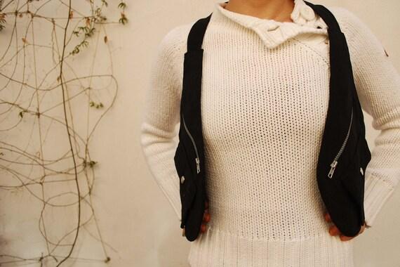 Black Holster Vest / Holster Bag / Travel Bag / Utility Holster / Festival Utility Vest