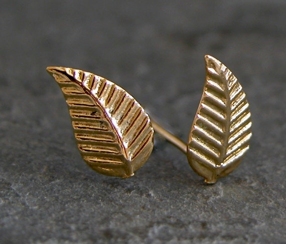 Leaf Post Earrings,Wedding Gold Earrings ,Gold Studs Leaf Earrings Grecian Goddess Earrings Greek Goddess Gold Leafs Stud Earrings