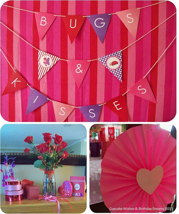 Love Bugs Valentine's Day Printable Party Collection