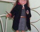 Hogwarts Uniform for American Girl Doll Robe Emblem Patch