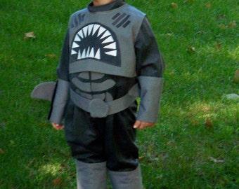 Shark Boy Childrens Costume, Sharkboy Costume, Boys costume, Kids Sharkboy Costume, Shark Dress Up, Custom made to order, Halloween