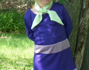 Girls Daphne Dress, Daphne Blake Costume, Scooby Doo Costumes, Halloween Costumes, Custom Costumes for Girls, Dress Up Play, Birthday Party
