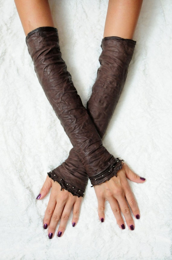 Game of Thrones - Leather fingerless gloves also known as Kittys