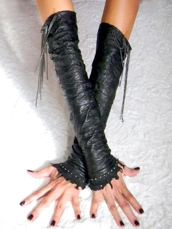 Game of Thrones - Mad Max -  fingerless gloves also known as Kittys