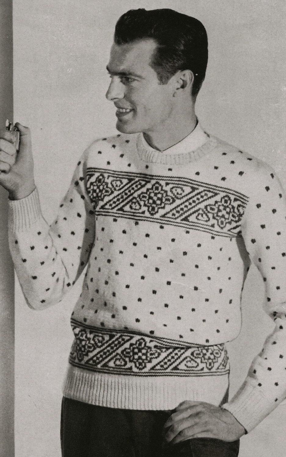 Knitting Sweater Design Book Pdf : Pdf of mens norwegian sweater knitting pattern sz