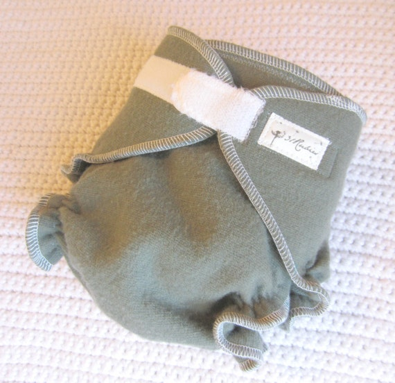 Wool Diaper Cover One Size Night Time