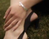 Personalized Hand Stamped Cuff- Great Gift Ideas-Unisex