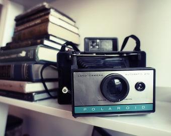 Modified 210 Polaroid Land Camera - Film Tested Working