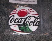 "Coca-Cola Pocket Mirror Large 3"" Large Size"