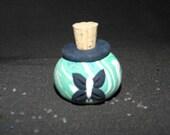 Blume Fee funkelt Miniatur Jar von Glitter für phantasievolle spielen SCHMETTERLING design