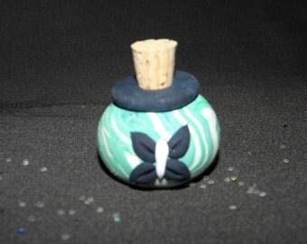 Flower Fairy Sparkles Miniature Jar of Glitter for Imaginative Play BUTTERFLY design